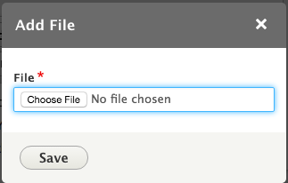 Choose your file