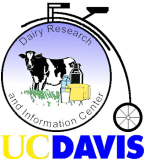 DRINC logo showing a cow with a old fashioned bicycle with a very large front wheel.