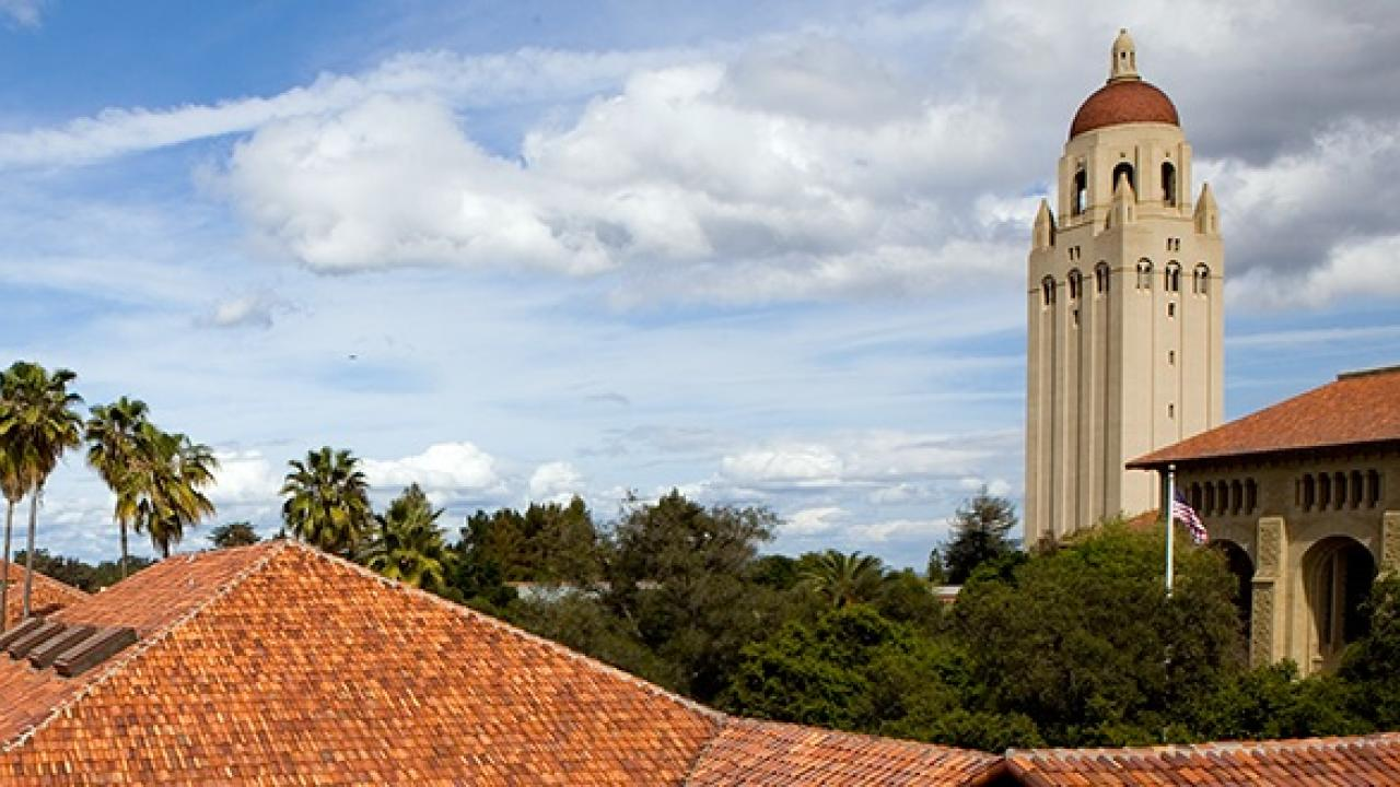 Hoover Tower at Stanford University