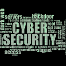 Cyber Security word map